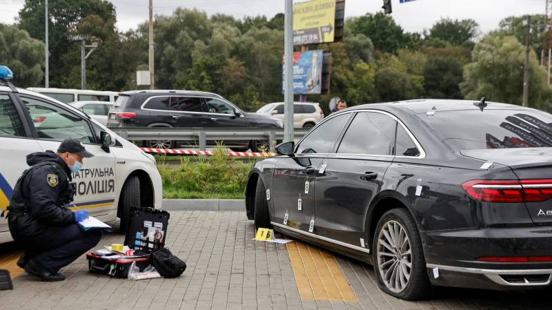 Ukraine president's aide targeted in assassination attempt