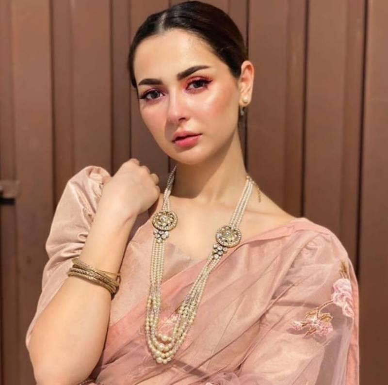Hania Aamir delights fans with bridal shoot photos