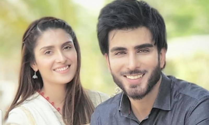 Ayeza Khan is in LOVE with Imran Abbas' new look … Does Danish need a 'repair' too?