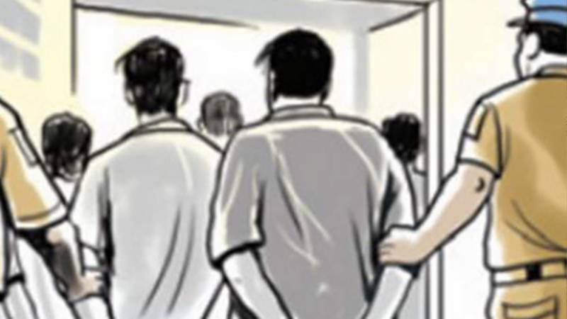 Two held for harassing female students