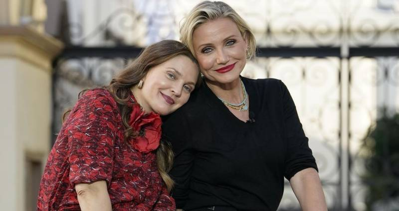 Fans go wild after Cameron Diaz shares photos with Drew Barrymore