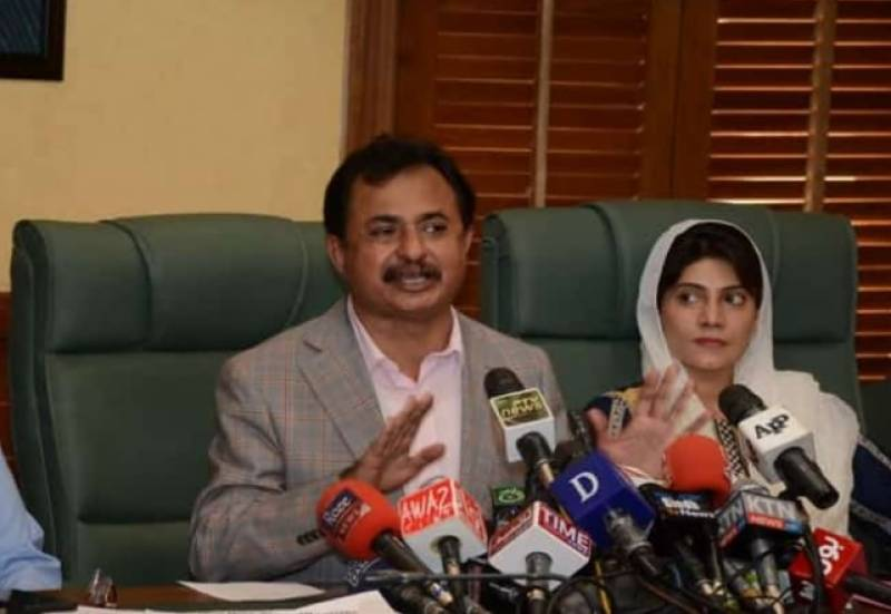 Haleem Adil Sheikh confirms second marriage to PTI Sindh MPA Dua Bhutto