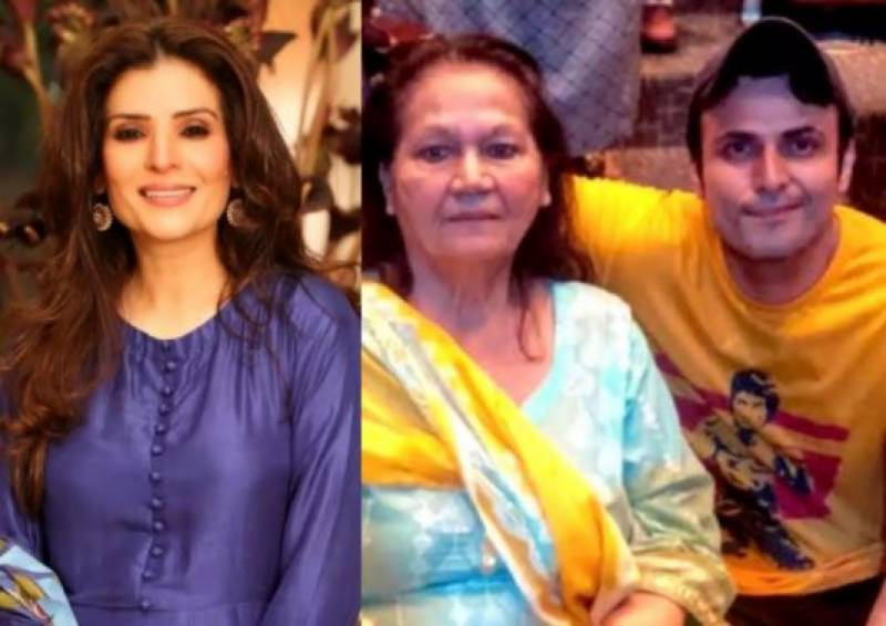 Resham applauds Usman Mukhtar's decision to choose his mother over career
