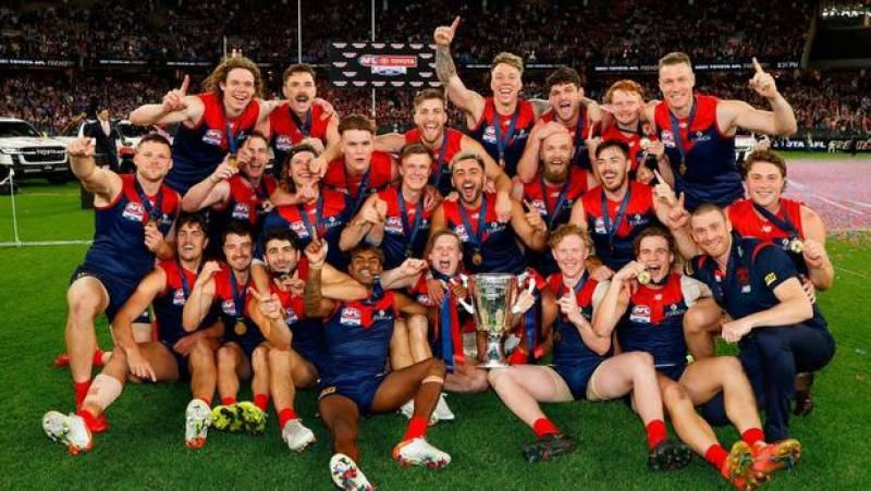 Demons win Australia's AFL grand final for first time in 57 years