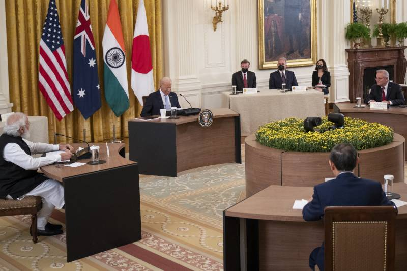 Leaders of US, Australia, Japan, India meet on how to tackle rising China