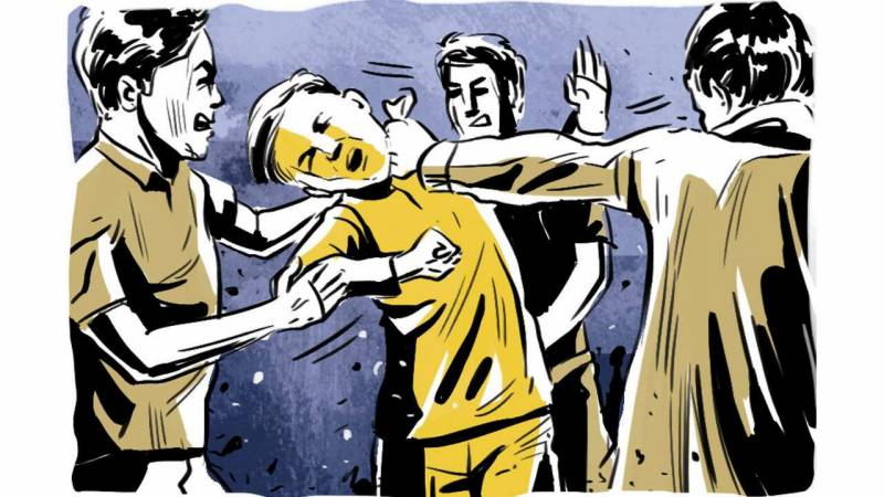 Father, sons thrashed for opposing setting up of brick kilns