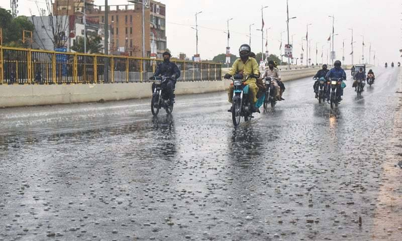 Met office forecast heavy rainfall in Karachi, other areas from Tuesday