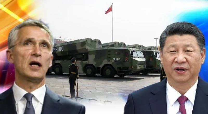 NATO calls for arms-control talks with China