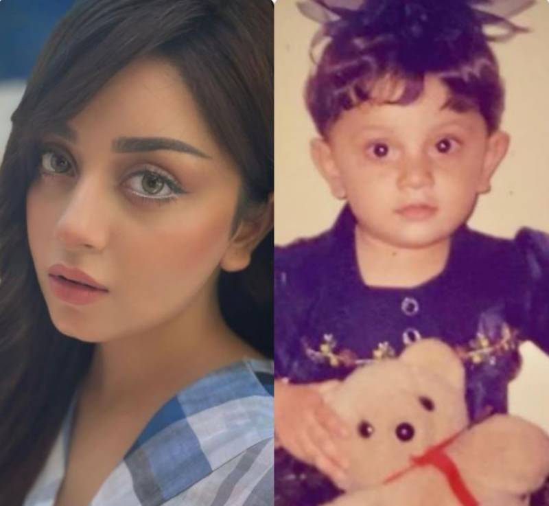Alizeh Shah shares picture of her naughtier baby version