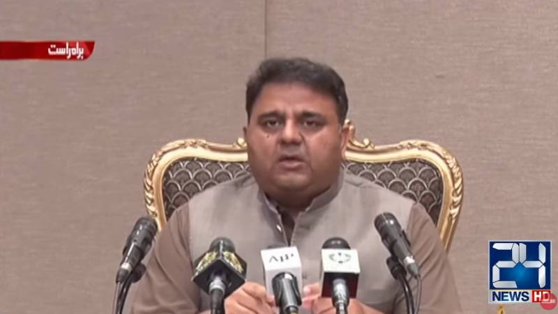 Govt welcomes discussion on electoral reforms with Opp: Fawad