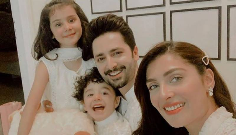 Family orientated Ayeza Khan decorates entire wall with loved ones' pictures