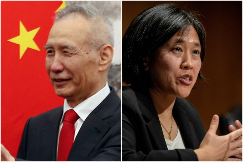 Chief trade negotiators from US, China hold 'candid exchange'