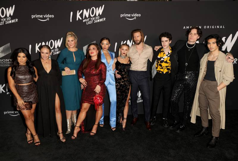'I Know What You Did Last Summer' premiere attracts galaxy of stars