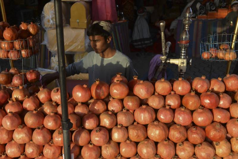 Afghan pomegranate pickers jobless as fruits rot at Pakistan border